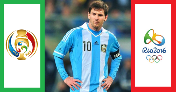 Messi to miss Rio Olympic