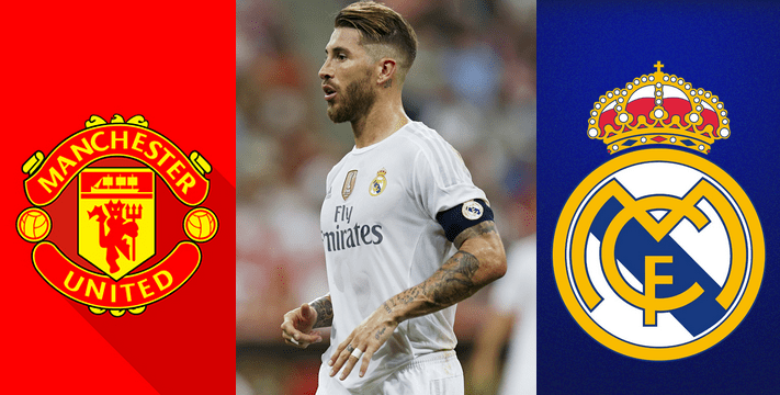 Sergio Ramos on Man U