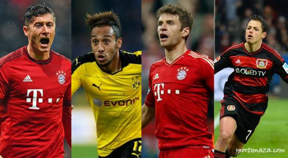 Bundesliga forwards