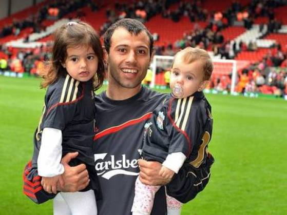 Kids of Javier Mascherano
