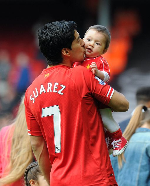 Kids of Luis Suarez 2