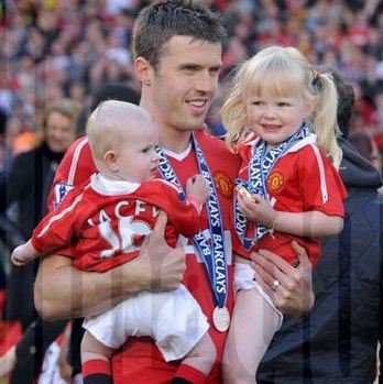 Kids of Michael Carrick 2