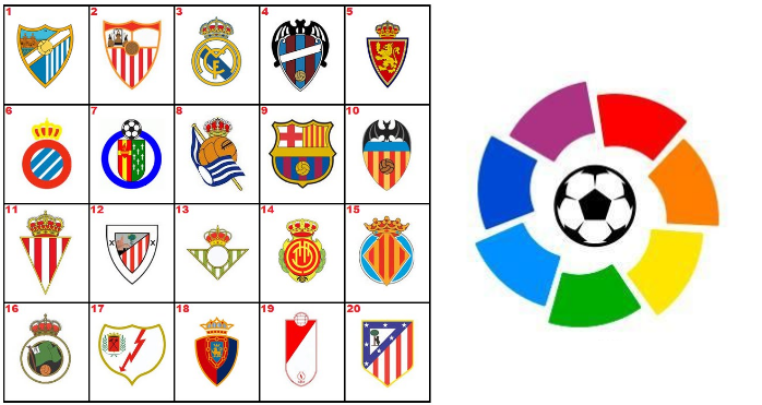 2016 17 points table of la liga list of teams and their ranking - Spanish league point table ...