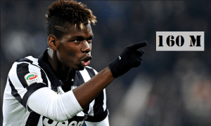 Juventus set out €160m release clause for Paul Pogba