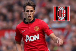 AC Milan wants to sign the Man Utd Belgian winger Adnan Januzaj on loan