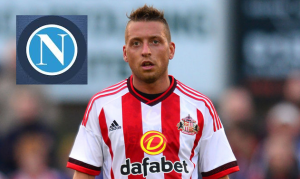 Italian attacking midfielder Emanuele Giaccherini has finished his switch to Napoli for £1.5 million