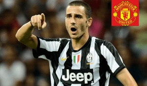 Man Utd emerged £60m fee to hijack Juventus Centre back Leonardo Bonucci