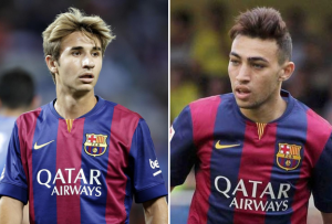 Barcelona confirmed Munir El-Haddadi and Sergi Samper for next 3 year extension