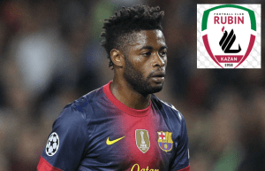 Barcelona castaway Alex Song has confirmed his move to Rubin Kazan