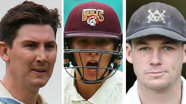 Renshaw, Maddinson and Handscomb