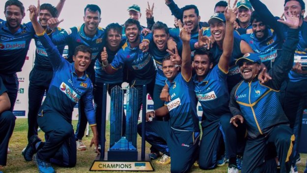 Sri Lanka win tri series