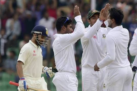 Bangladesh - India test