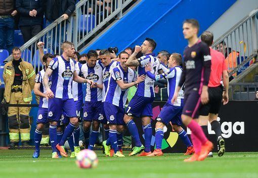 Deportivo 2 - 1 BARCA