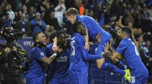 Leicester city made history again, Sevilla get no chance at King Power