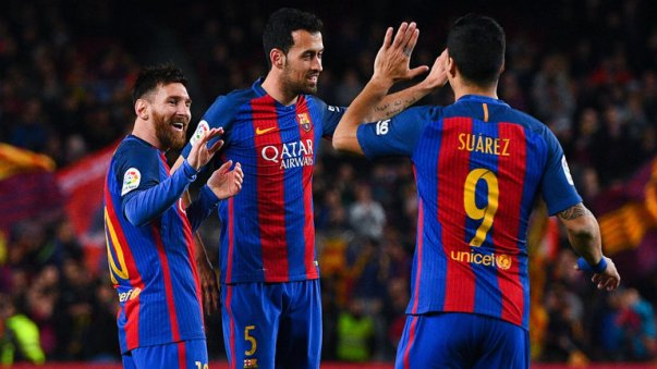 MSN scored for Barca