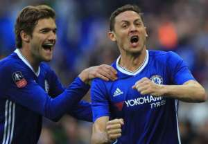 Nemanja Matic stunner sends Chelsea into the FA Cup final
