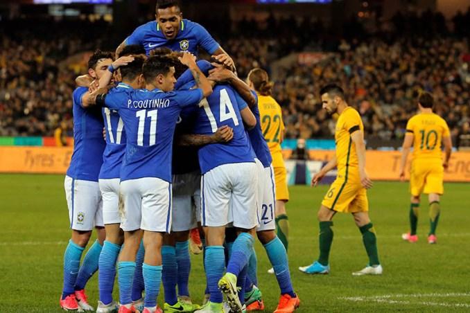 Brazil 4 - 0 Australia