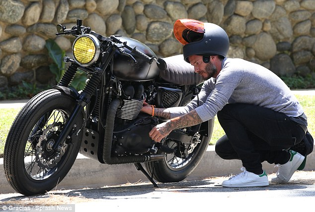 David Beckham Motorcycle