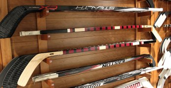 How to make a Homemade Wooden Hockey Stick Racks