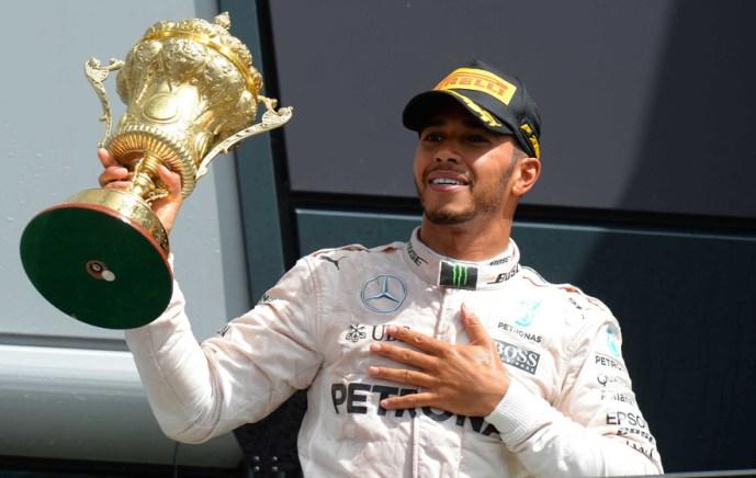 Lewis Hamilton won British GP