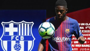 French winger Ousmane Dembele moves to FC Barcelona