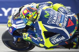 Valentino Rossi suffered flag to flag race again in Brno MotoGP