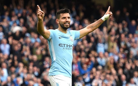 Man City 5 - 0 C Palace goal of aguero