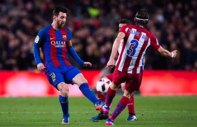 Messi vs Atletico Madrid