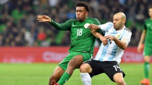 Argentina downfall against Nigeria in the World Cup preparation match
