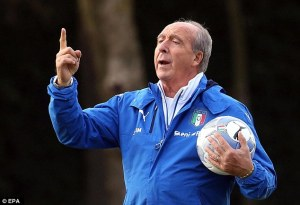 Italy manager Ventura confident for World Cup Play-off against Sweden