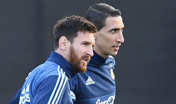 Messi and Di Maria