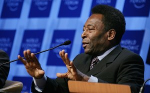 Pele not satisfied with the Brazil World Cup team