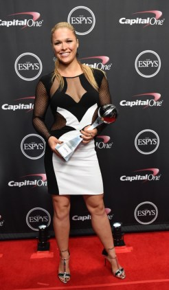 Ronda Rousey at the 2015 ESPYS.