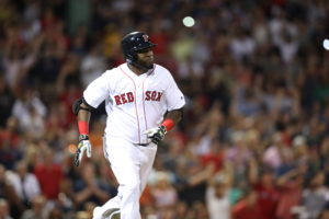 Boston, MA - August 28, 2016 - Fenway Park: David Ortiz (34) of the Boston Red Sox during a regular season Sunday Night Baseball game (Photo by Allen Kee / ESPN Images)