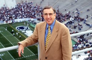 State College, PA - November 19, 1999: Brent Musburger. (Ken White / ABC)
