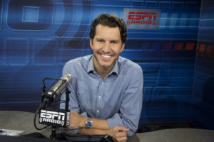 Bristol, CT - December 2, 2015 - Radio Studio: Portrait of Will Cain (Photo by Joe Faraoni / ESPN Images)