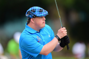 Los Angeles, CA - July 28, 2015 - Griffith Park: Athlete from Great Britain participating in golf during the 2015 Special Olympics World Summer Games (Photo by Phil Ellsworth / ESPN Images)