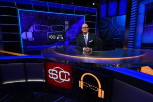 Bristol, CT - September 7, 2015 - Studio X: Scott Van Pelt on the set of SportsCenter (Photo by Joe Faraoni / ESPN Images)