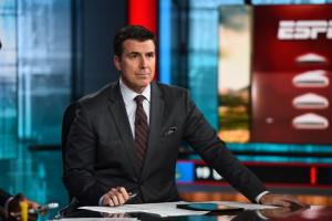 Bristol, CT - November 10, 2015 - Studio G: Rece Davis on the set of College Football Top 25 Rankings Show (Photo by Joe Faraoni / ESPN Images)