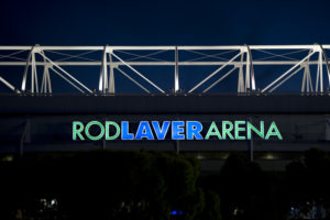 MELBOURNE, AUSTRALIA - JANUARY 20, 2011: Outside Rod Laver Arena during the 99th staging of the Australian Open (Photo by Scott Clarke / ESPN) - RAW FILE AVAILABLE -.- CMI000158718.jpg -