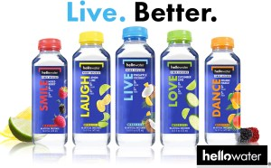 Sports Supplement Drinks and Hellowater