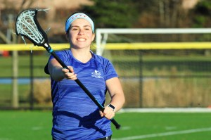 College Lacrosse Player Back From Knee Injury