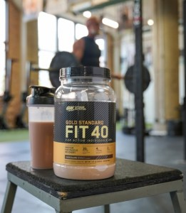 ABOUT GOLD STANDARD FIT 40 MUSCLE RECOVERY PROTEIN