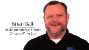 Interview with Brian Ball, Head Athletic Trainer with the Chicago White Sox talks about the New Challenges this Season