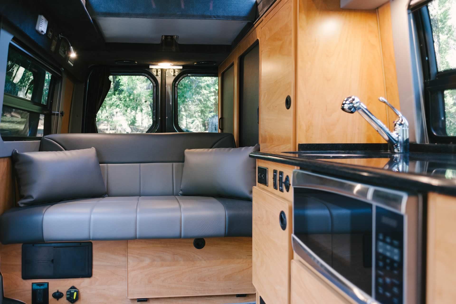 10 Sprinter RB 150S Conversion Van  Penthouse Top  Cabinets