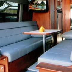 Sofa Beds For Motorhomes Leather Sectional Sofas Cheap Designing Your Custom Camper Van Conversion Seats Bed Choices Kkratesvan07a Eb110s2 06a Couches1a