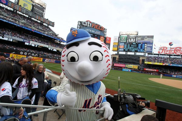 New York Mets Mr. Met Mascot