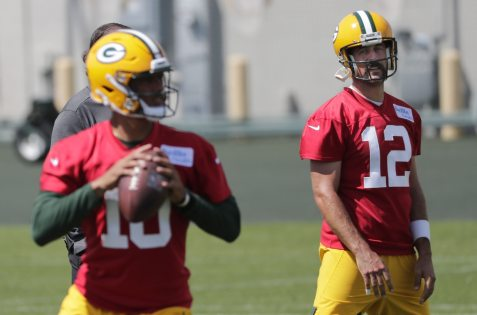 Aaron Rodgers was upset when the Packers drafted Jordan Love.