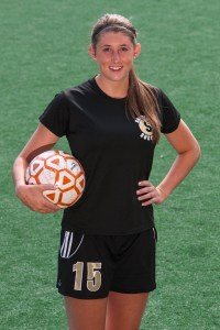 Haley Warren had two goals and two assists on Saturday vs Wenatchee Valley.