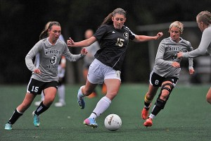 Hayley Warren scored the only goal for SCC on Wednesday.